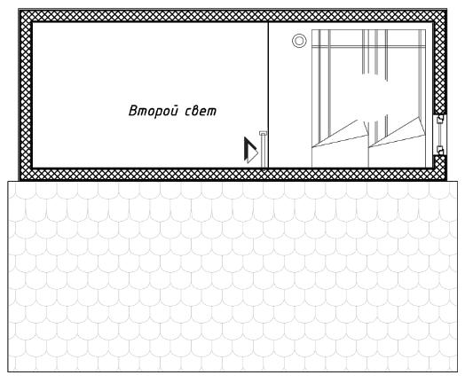 """""""Норвежский дом-баня"""" 33 кв.м."""